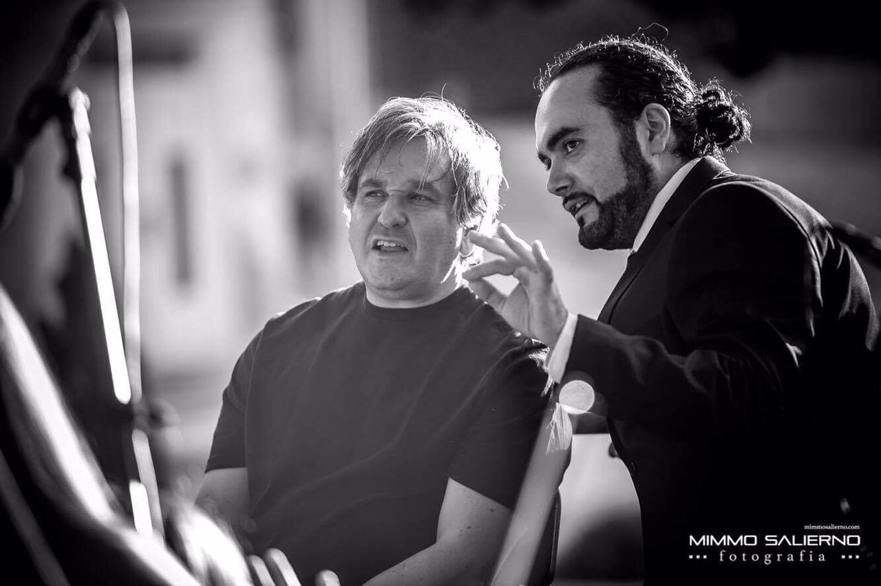 with Sir Antonio Pappano