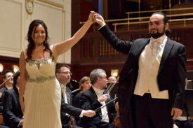 con Sonya Yoncheva - Orchestra Filarmonica di Praga