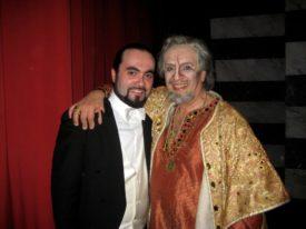 con Leo Nucci