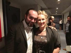 con Diana Damrau - Teatro Real, Madrid